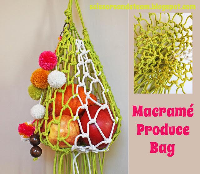 Diy Macrame Produce Bag The Refab Diaries