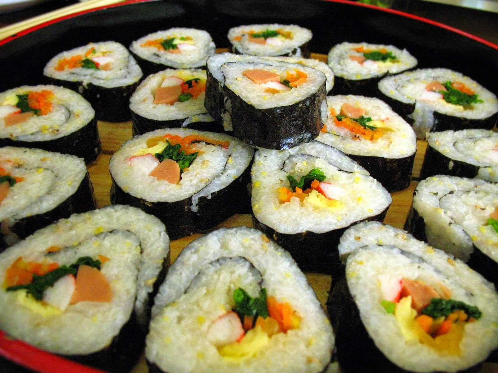 Resep Membuat Sushi Sederhana Ala Indonesia Enak