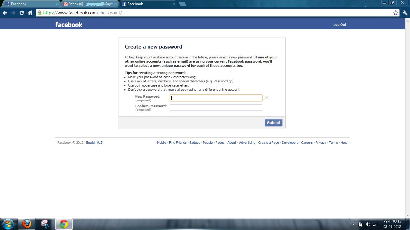 blog facebook login tips secure browsing