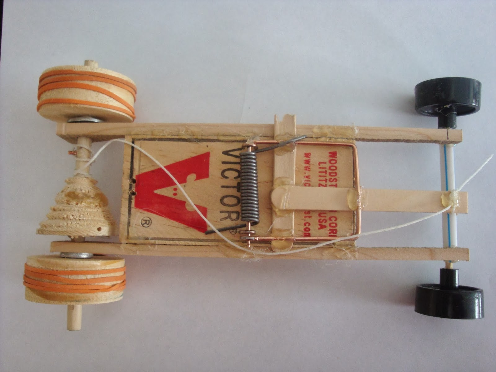 How To Make A Rat Trap Race Car