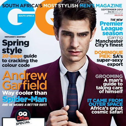 Recently Published: In September 2012 GQ magazine