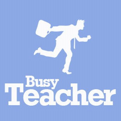 Busy Teacher website