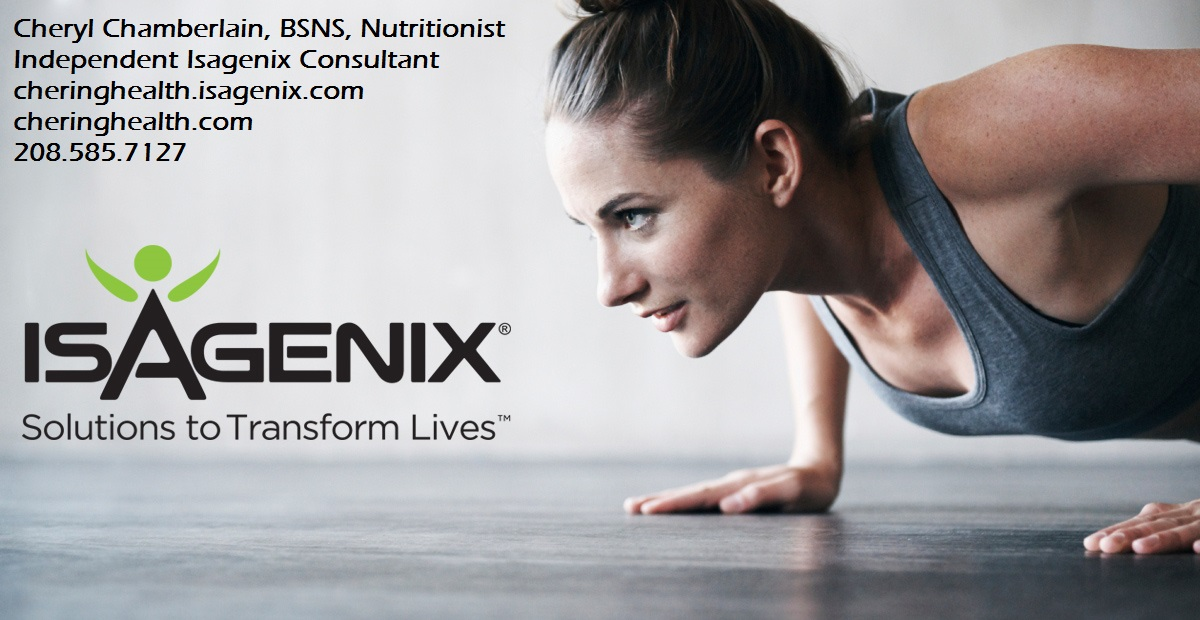 SHOP AT ISAGENIX NOW!