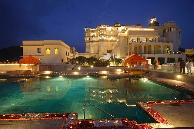 Devi Garh by lebua is a heritage hotel in Udaipur, Rajasthan