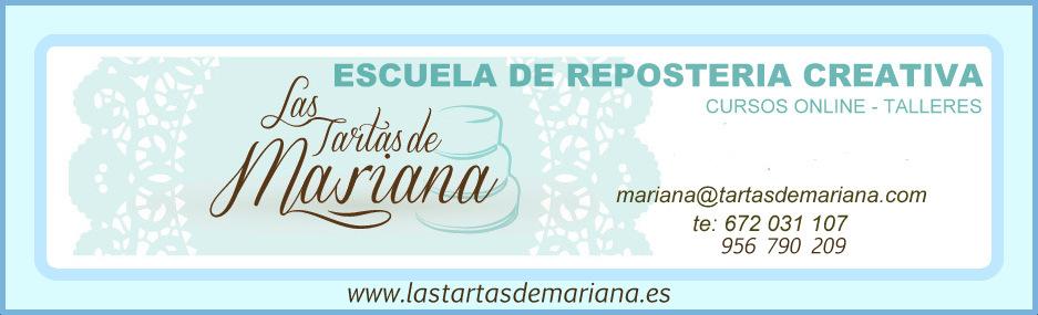 CURSOS ONLINE DE LAS TARTAS DE MARIANA