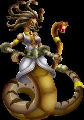 imagen del monstruo medussha de monster legends