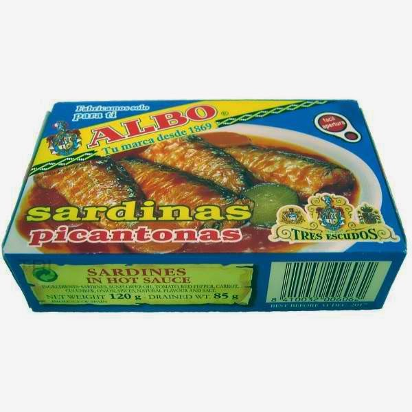 Albo Spanish sardines in spicy Sauce Sardines