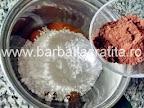 Prajitura cu cocos si nuca preparare reteta crema