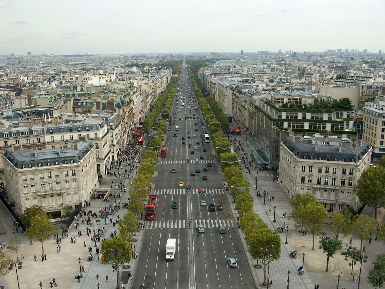 PARIS. (CHAMPS ELYSÉES).