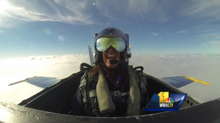 http://www.wbaltv.com/news/jennifer-franciotti-takes-flight-with-blue-angels/27990492#ixzz3D0P7e1lq