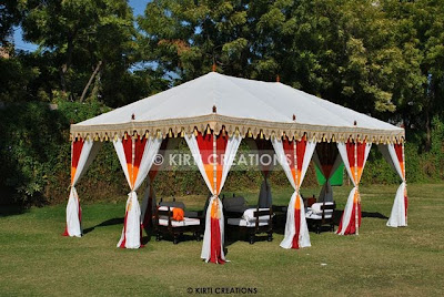 Lavish Wedding Tent