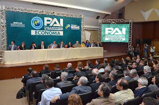 Governo de Goiás lançou no dia 17 de outubro em Goiânia, o PAI - Economia