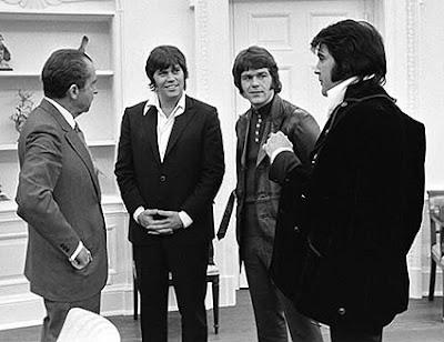 Elvis Presley y Nixon