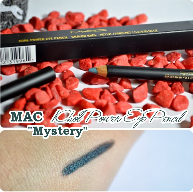 Review MAC Divine Night Holiday Collection 2013 - Khol Power Eye Pencil MYSTERY