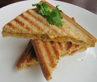 A Delightful Corn Sandwiches