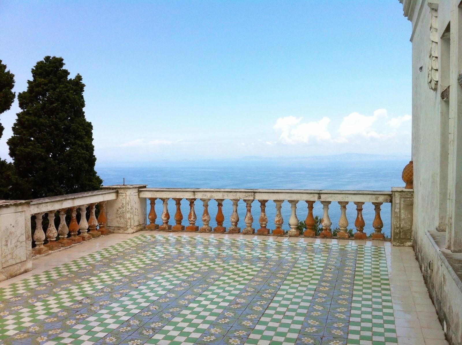 Party Vista Mare  Capri To Be Discovered    Villa Lysis