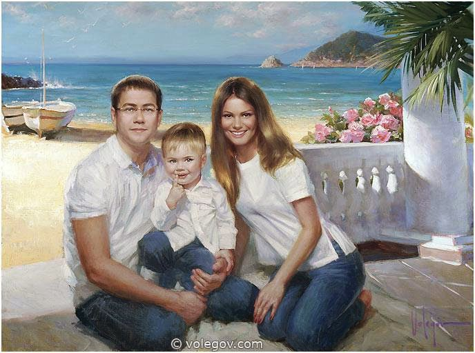 retratos-familiares-ideas-para-pinturas-originales