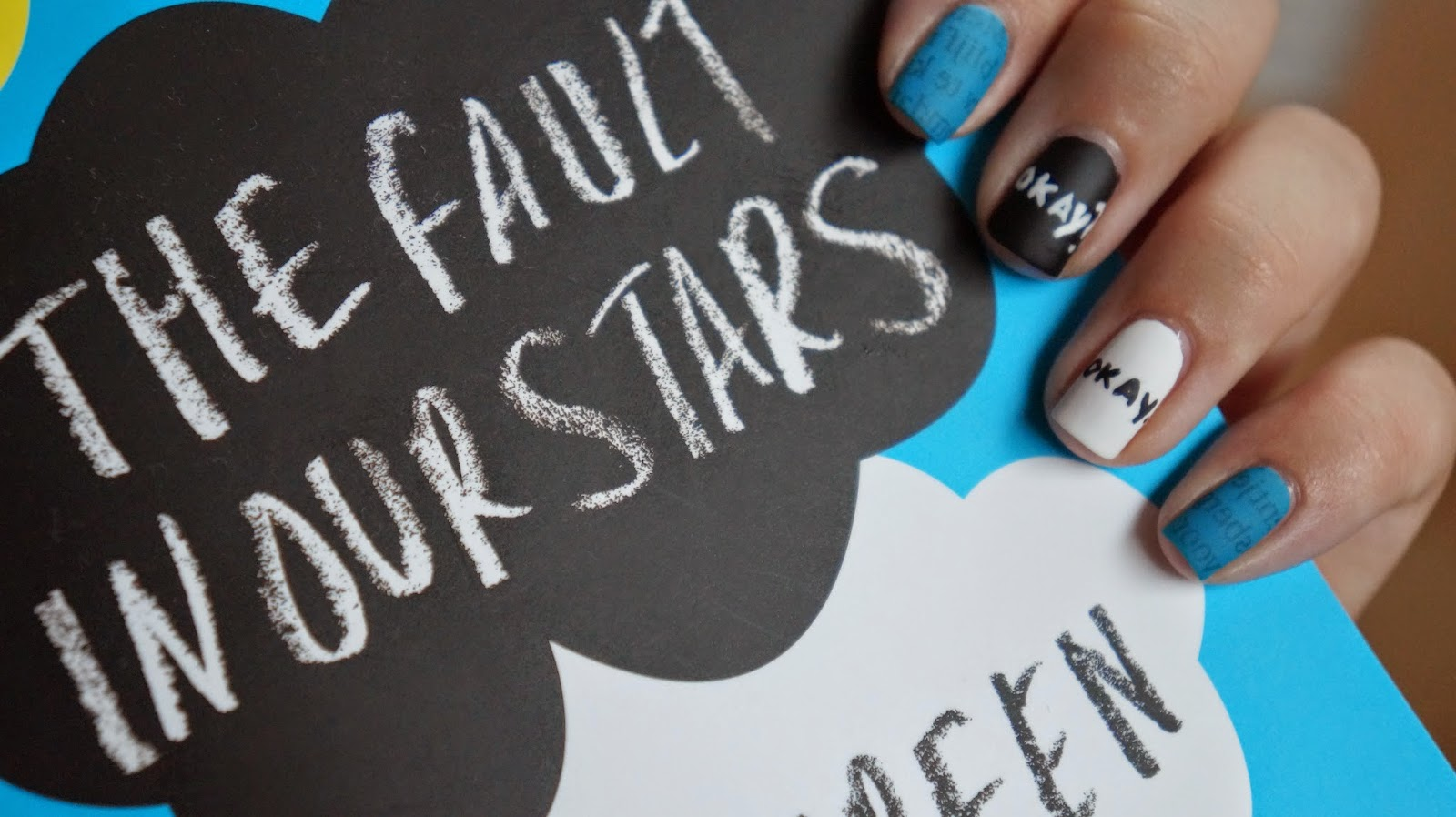 Lorenas Photography Nail Art The Fault In Our Stars