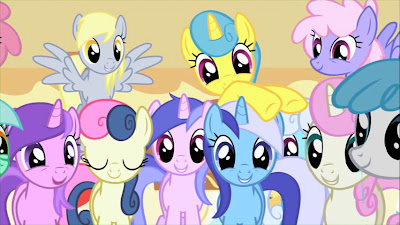 "Derpy and the ""Muffins!"" scene"