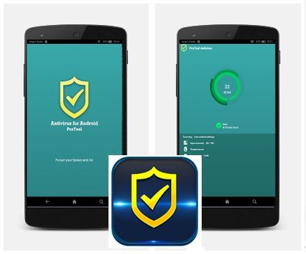 تطبيق مجاني لمكافحة الفيروسات وزيادة الأمان علي الأندرويد Antivirus Pro for Android 1.2.3 APK