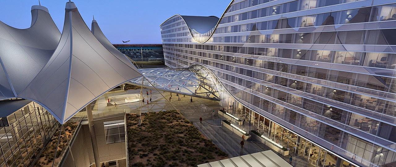 Aeroporto Denver : Aeroporto di denver international airport il