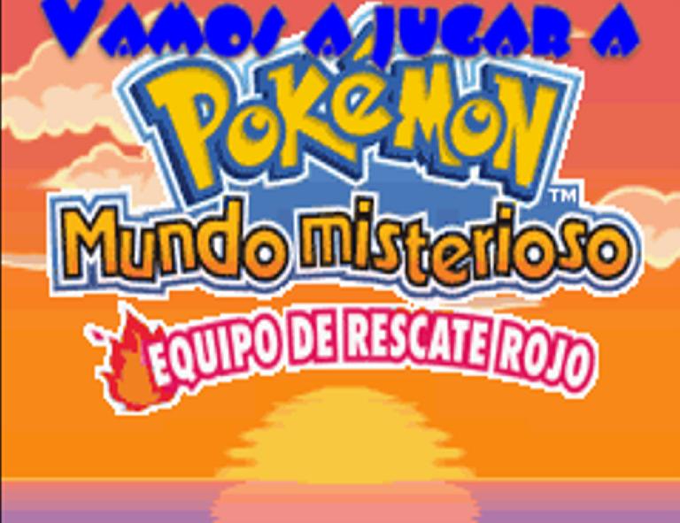 Jugar pokemon mundo misterioso equipo rojo cap 237 tulo 1 el rescate de