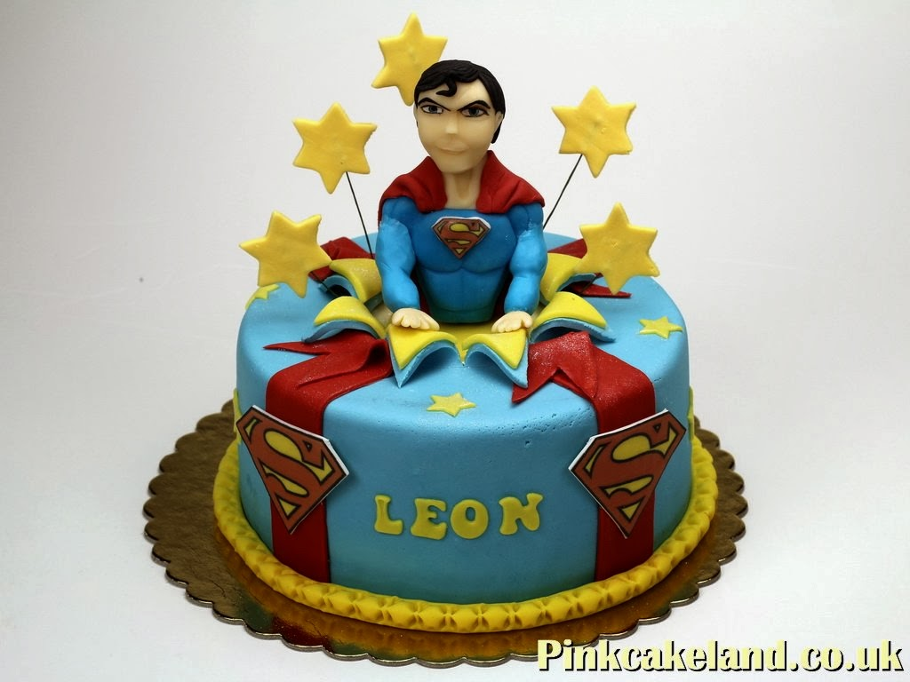 Superman Birthday Cake in London