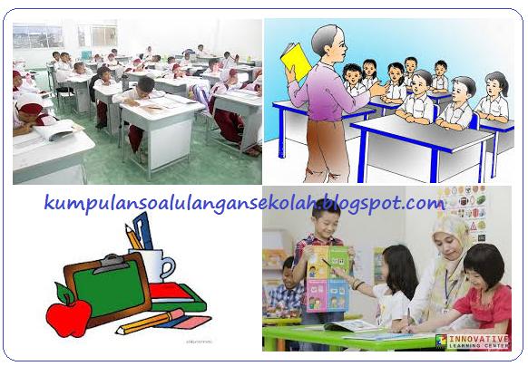 Soal UAS Tematik Semester 1 Kelas 4 SD Tema 5 Kurikulum 2013