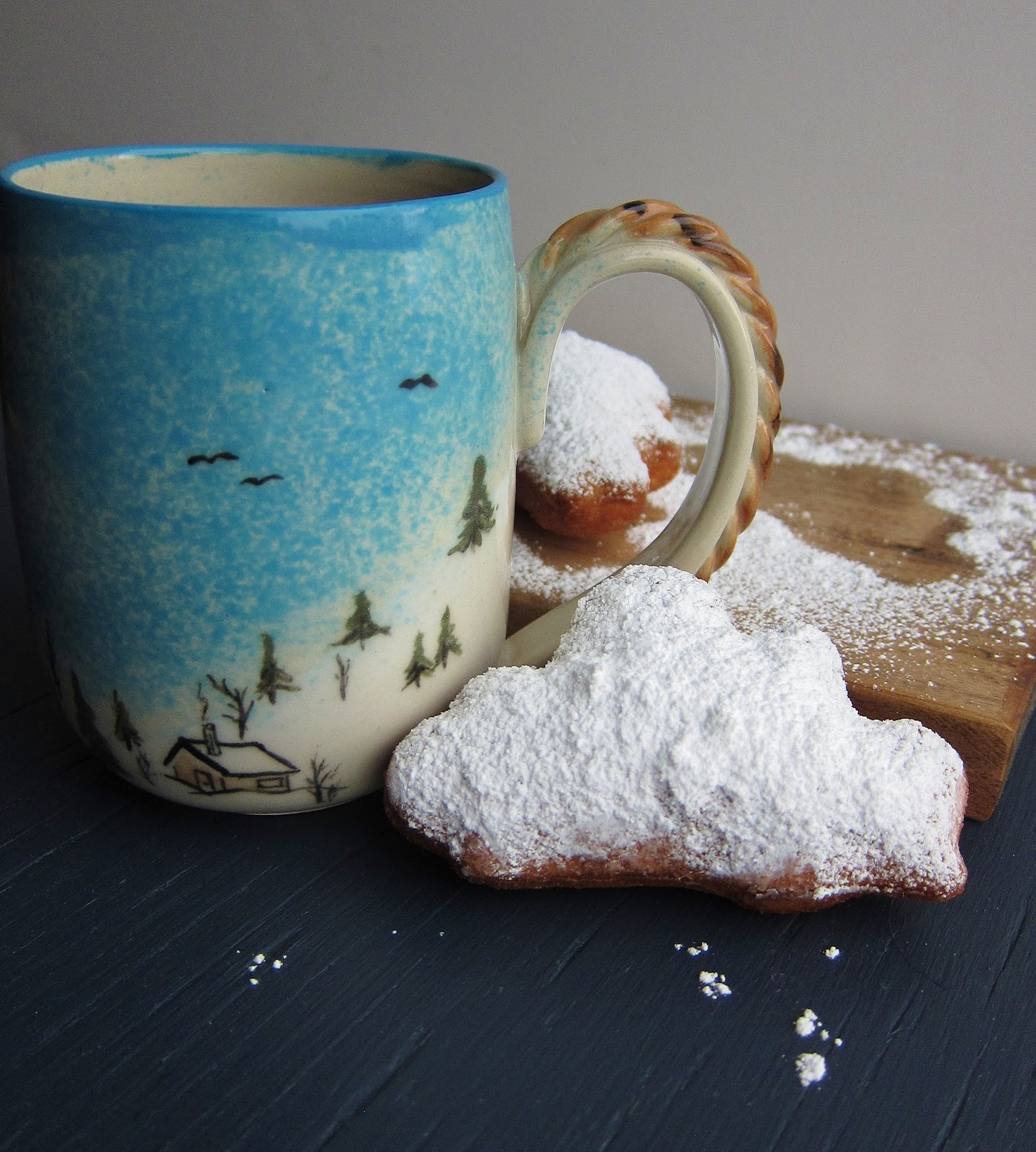 snow cloud buttermilk beignets