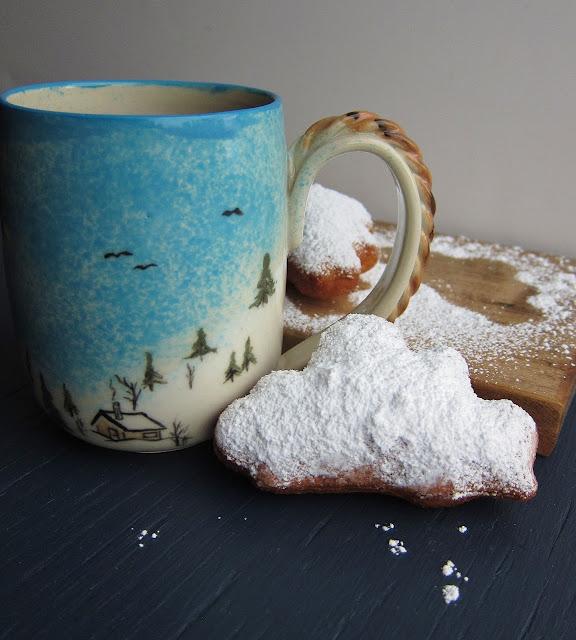 Arctic Garden Studio: Snow Cloud Buttermilk Beignets
