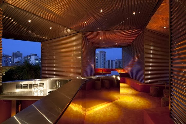 Dise o interior bar casa cor bar belo horizonte arquitexs for Restaurantes modernos exterior