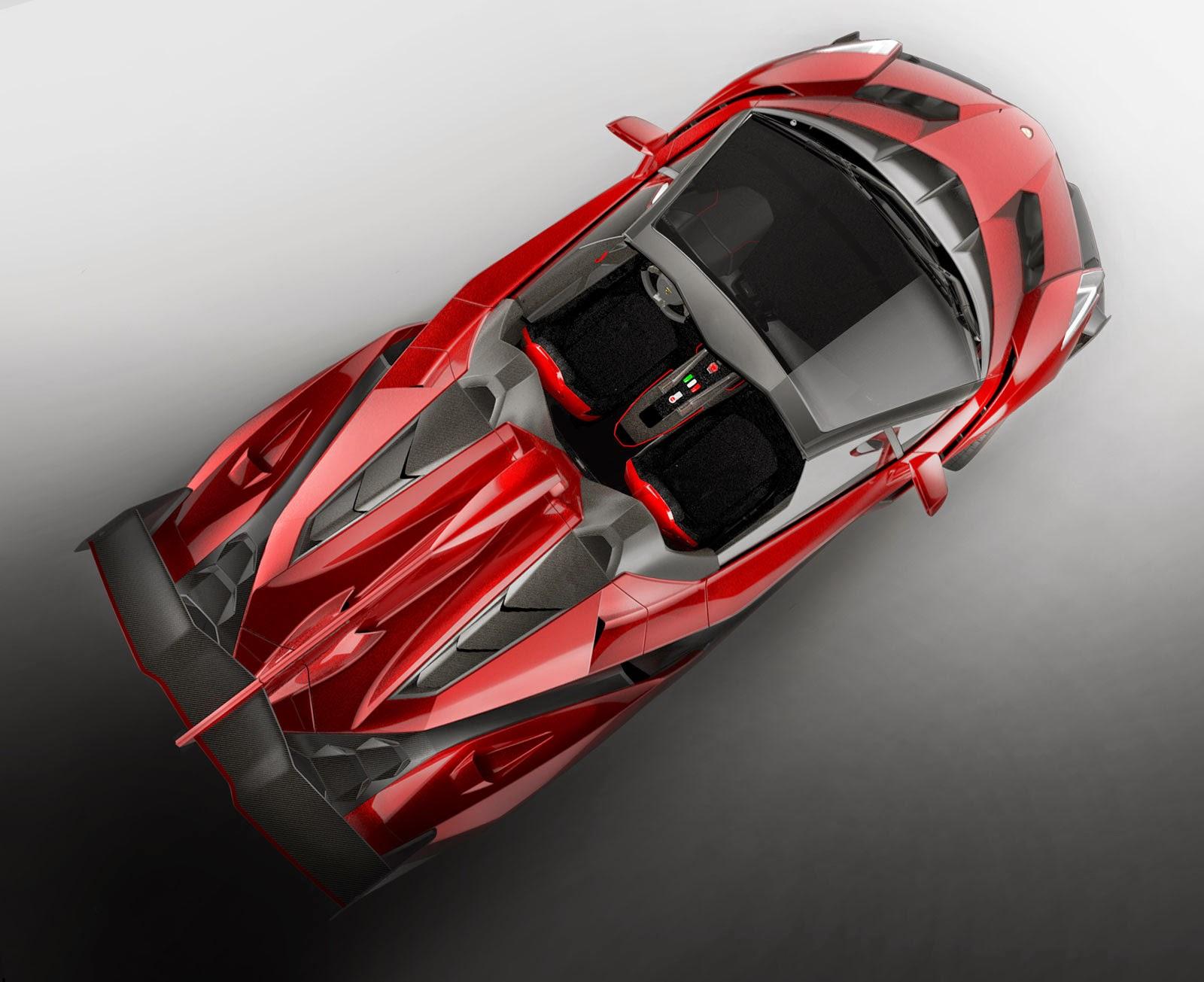 wallpaper lamborghini veneno roadster HD terkeren 2014