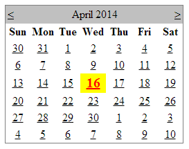 highlight today date in asp.net calendar