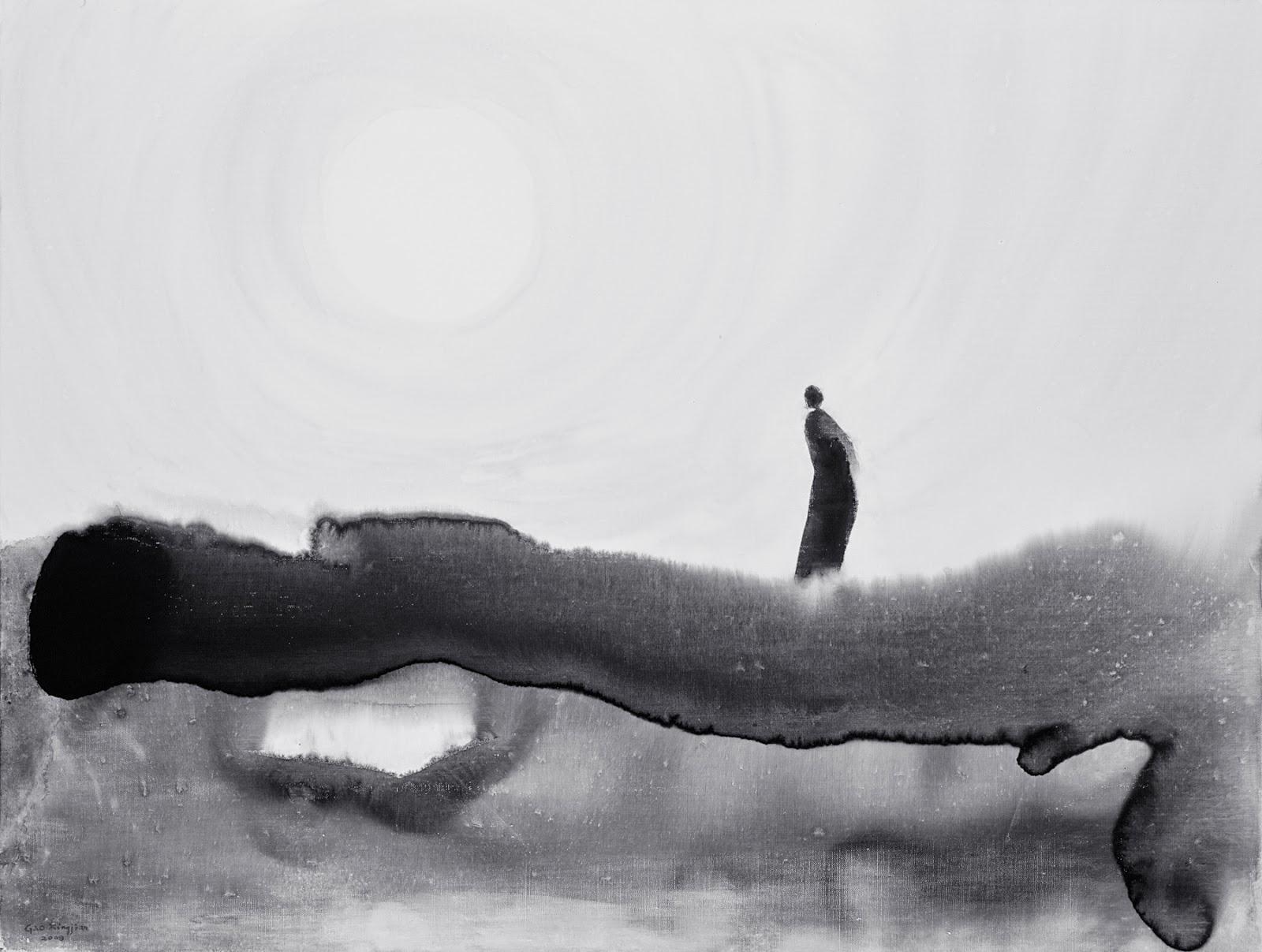 Peinture de Gao Xingjian