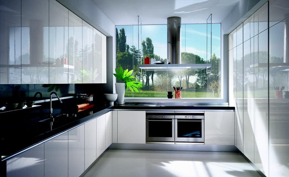 Puertas de cocina en laca kansei cocinas servicio - Cocinas espectaculares ...