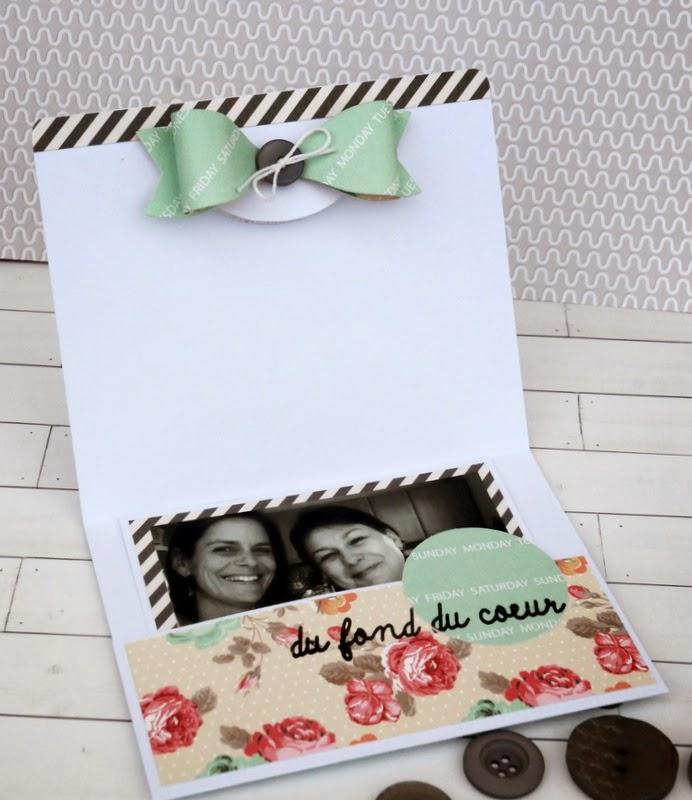 Natalia scrap e breizh un tuto pour des cartes pochettes - Faire une pochette cadeau ...