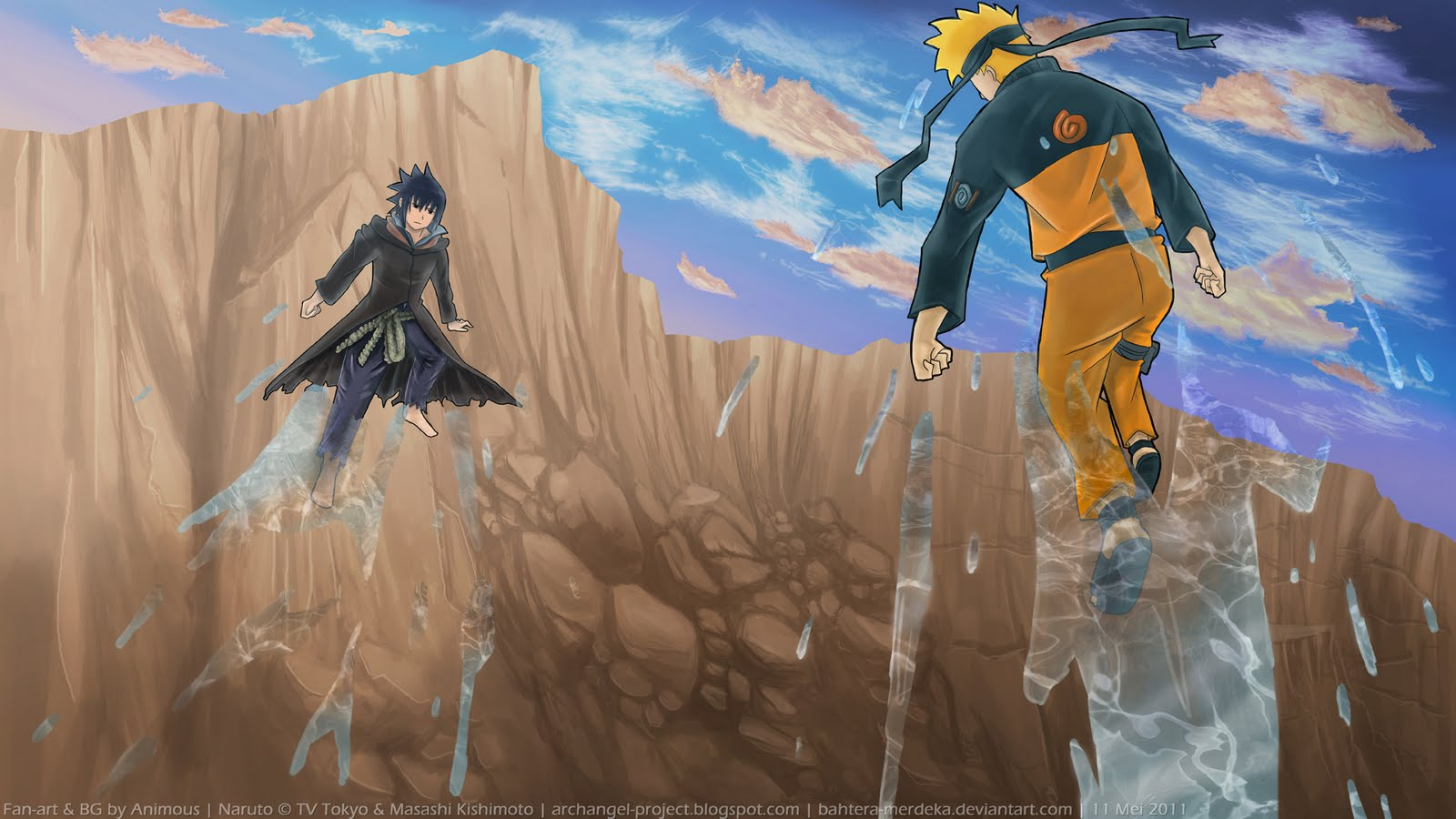 Naruto HD & Widescreen Wallpaper 0.806529684263271