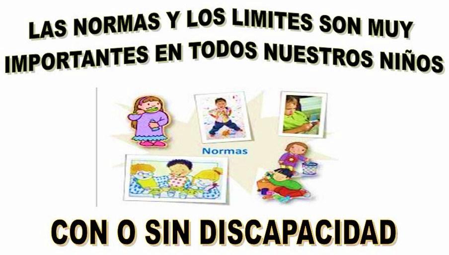 Las normas y los límites son muy importantes en todos nuestros niños ...