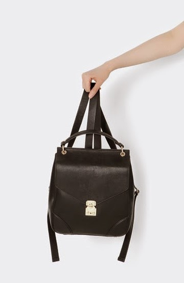 Vegan Leather Backpack Rucksack