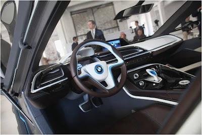 Konsep Mobil Baru BMW i3 City Car dan BMW i8 Sports Car