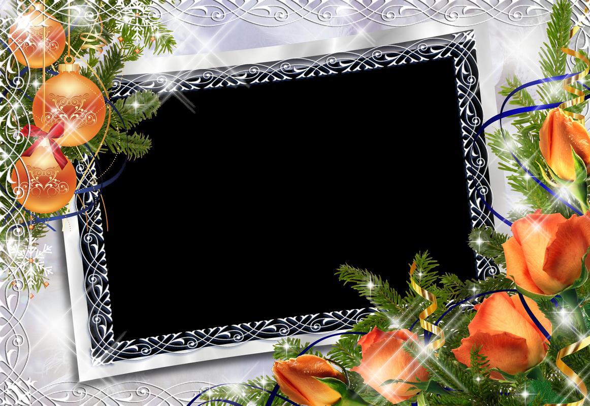 6 hermosos marcos para fotos de navidad ayudadefacebook for Navidad on line