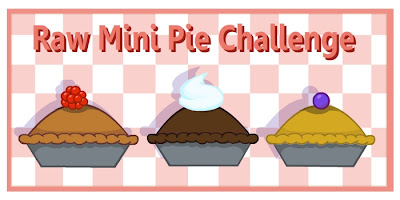 Raw Mini Pie Challenge