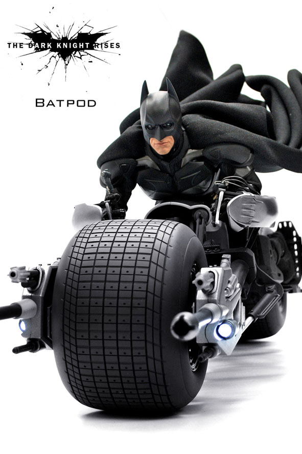 The dark knight batpod toy - photo#27