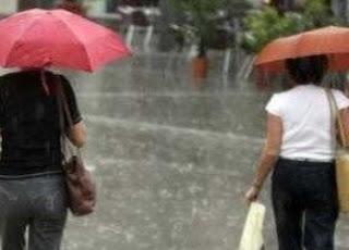 LLuvias desaparecen altas temperaturas y alegran capitaleños