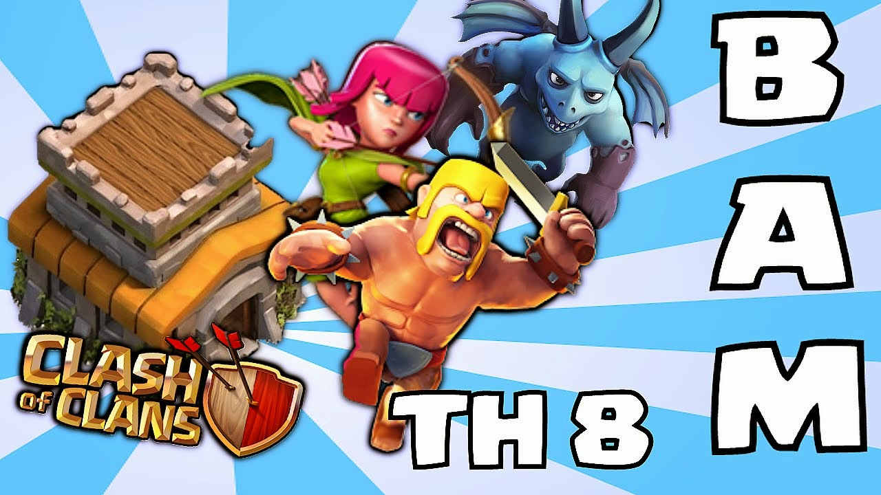 barbarian archer minion attacking Clash of clans strategy