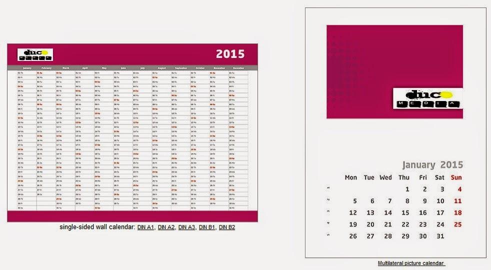 Duco Media: Personalised Calendars