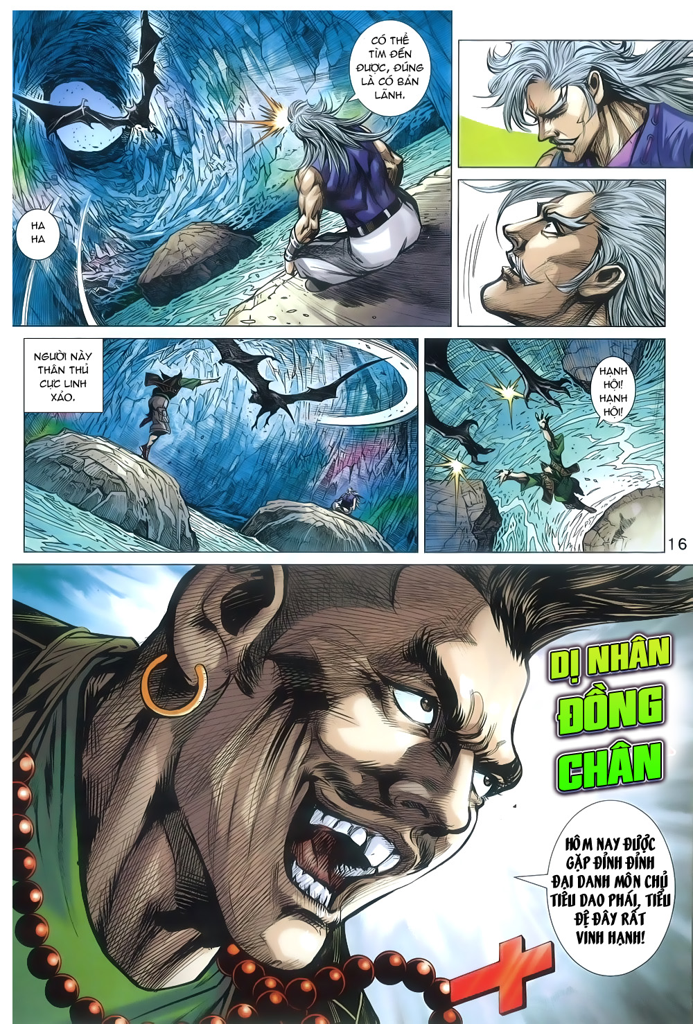 Tân Tác Long Hổ Môn chap 805 Trang 16 - Mangak.info