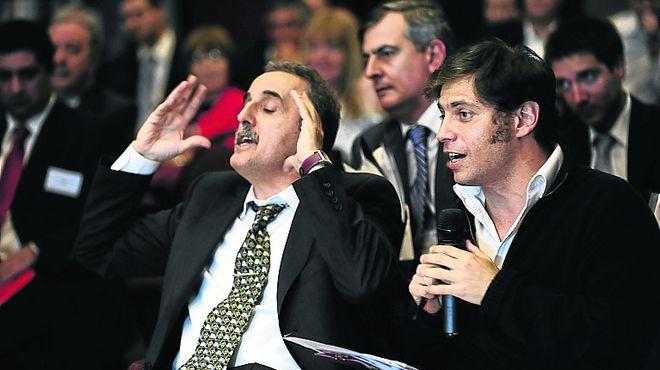 Imágenes inéditas de G. Moreno en la asamblea de Clarín!