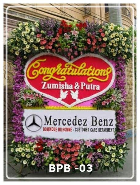 Bunga Papan Ucapan Congratulation