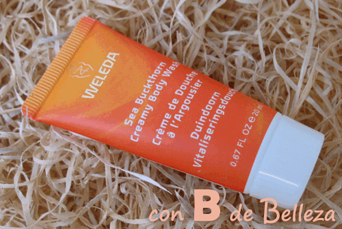 Body wash Weleda